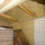 Wandheizung Decke Dachstuhl