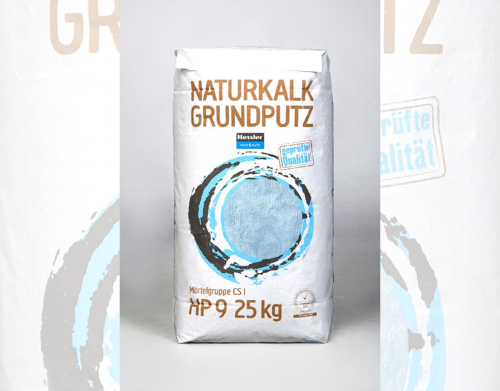 Naturkalk Grundputz HP9 25kg Hessler