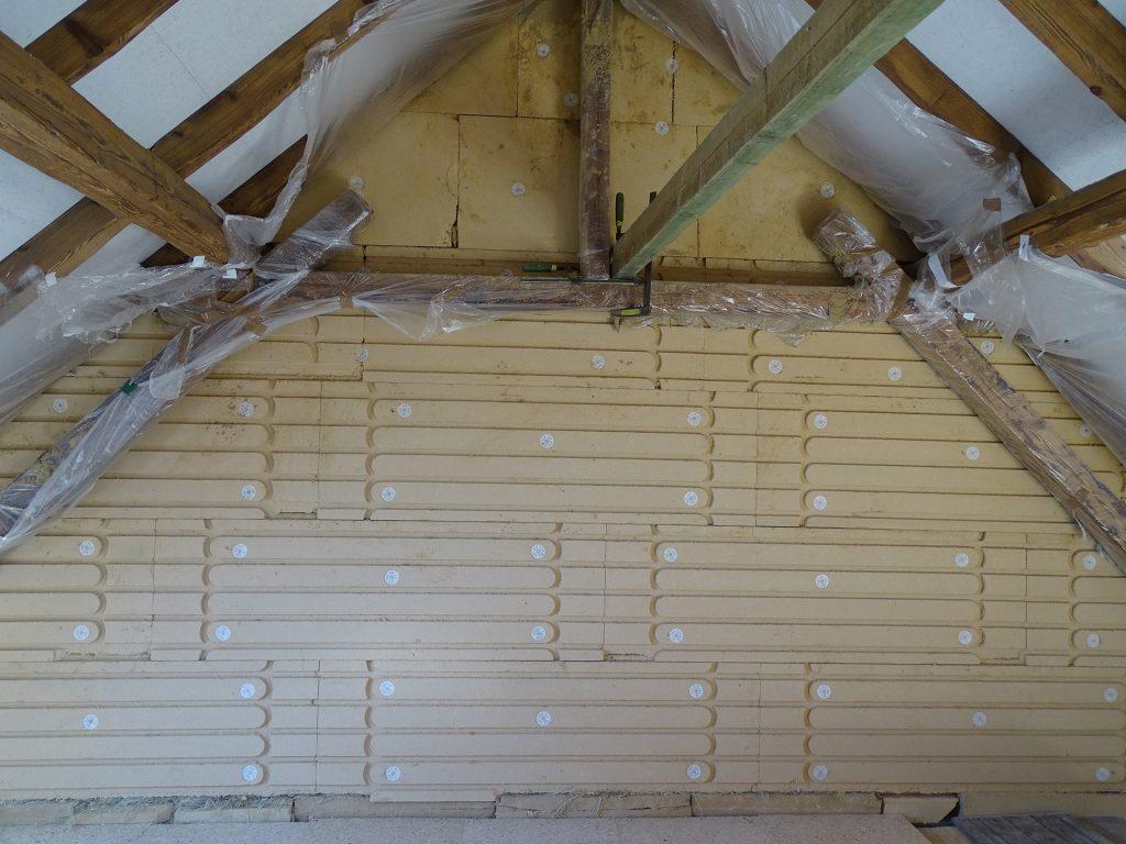 eiwa Inera Thermo Wandheizung aufbau dach